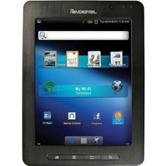Pandigital SuperNova 8-inch Capacitive Touch Screen Android Tablet Computer- R80B400 (Manufacturer Refurbished) (Personal Computers)  http://www.amazon.com/dp/B0080JYKXQ/?tag=aloneinthewai-20