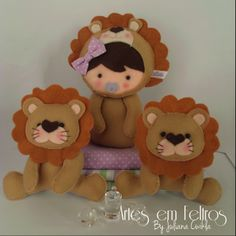 Artes em Feltros By Juliana Cwikla Vendas via Facebook page Artes em Feltros