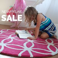 Save 30-75% off all children's rugs!  Get a new look for your little love's nursery, bedroom or playroom.  Free domestic Australian shipping.  Sale ends January 31, 2017.