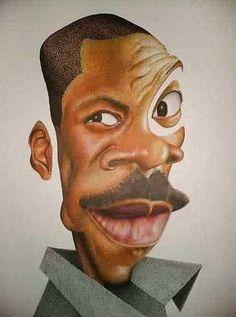 robin williams caricatures | eddie_murphy_166455