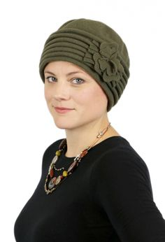 eefcf2b6fc3b2 This seamless beanie cloche hat is soft enough for a bald head for chemo  patients. Made in Canada by Parkhurst hats.Dry wool is naturally water  repellent.