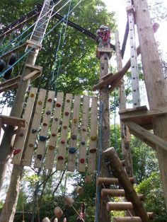 Hilltop Adventure View of our brand new climbing maze activity! Outdoor Centre, Activity Days, Norfolk, Maze, Wind Chimes, Climbing, Tourism, Have Fun, Activities