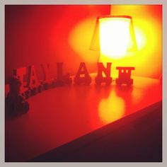 Day 2 October photo challenge : light!  Taylans lamp :)