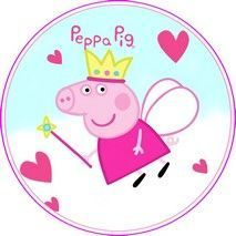 Disque d azyme Peppa pig Disque d azyme Peppa pig Peppa Pig is really Pig Birthday Cakes, Girl Birthday, Souvenir Peppa Pig, Peppa Pig Imagenes, Peppa Pig Party Supplies, Cumple Peppa Pig, Simple Birthday Cards, Baby Shower Fun, Lol Dolls