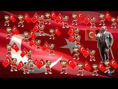 Dalga Dalga Bayrağım Şarkısı - YouTube