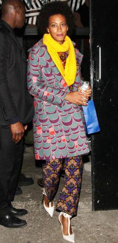 Gimme dat coat, Solange!
