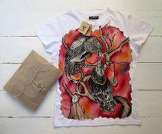TANCY: Handpainted unique t-shirts