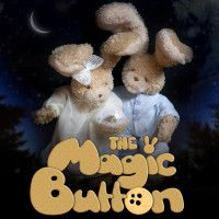 """Poster of """"Magic Button"""" stop- motion animation series. Lori and Fluke with the Button Cute Sister, Human Values, Animation Series, Stop Motion, More Fun, Tv Series, Teddy Bear, Buttons, Magic"""