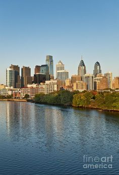 ✮ Philadelphia Skyline