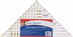 Fons & Porter Easy Diagonal Sets Ruler-3  to 12