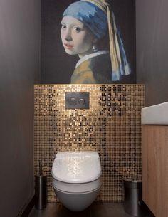♡ Marble Bathroom Floor, Bathtub Tile, Light Grey Bathrooms, Modern Master Bathroom, Small Toilet Room, Small Bathroom Inspiration, Sweet Home, Arredamento, Bath