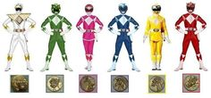 If the Mighty Morphin Power Rangers got Thunder Coins and new helmets with their Thunderzords in season two.