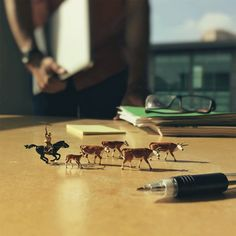 How One Artist Depicted Agency Life with Creative Mini Figures [Photos]