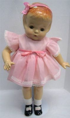 Vintage 1930'S Effanbee Patsy ANN Composition Doll Pink Dress Headband Shoes | eBay