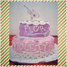 Torta cumpleaños Violetta para Florencia