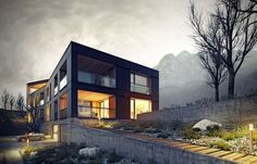 CGarchitect - Professional 3D Architectural Visualization User Community | Apartment house | Lugano