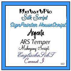 Pretty Font Series 112 - Instant download Pretty Fonts, Script, Etsy, Beautiful Fonts, Script Typeface, Cute Fonts, Scripts