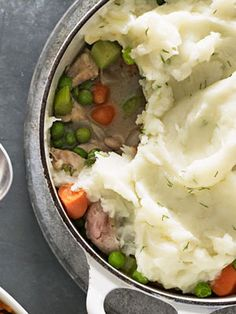 shepherd pie with mashed potatoes