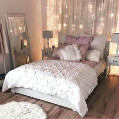 Image result for pink and gray bedroom