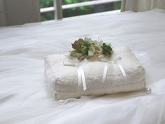 Ring Pillow, Pillows, Flowers, Ring Pillows, Ring Bearer Pillows, Cushions, Pillow Forms, Royal Icing Flowers, Cushion