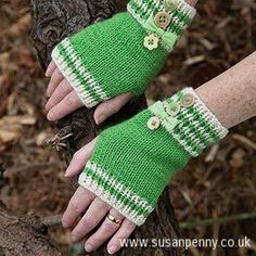These fun mittens are easy to make and they will keep you warm and snuggly on even the coldest winter's day.