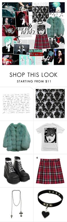 """""""and you could cry all you want to"""" by izumi05 ❤ liked on Polyvore featuring moda, Sebastian Professional, Gucci, Akira, Forever 21, women's clothing, women's fashion, women, female e woman"""