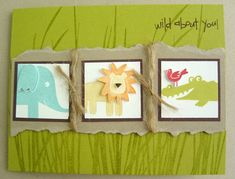 My First Kid Card by jennwith2ns - Cards and Paper Crafts at Splitcoaststampers