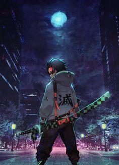 Anime: Demon Slayer Kimetsu No Yaiba Anime Neko, Mega Anime, Fanarts Anime, Otaku Anime, Anime Ninja, Anime Eyes, Cool Anime Wallpapers, Anime Wallpaper Live, Animes Wallpapers