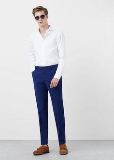 Bawełniana koszula Tailored slim-fit