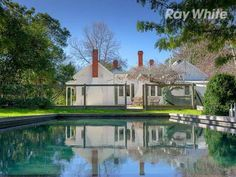 If only they hadn't painted the floor white.  Otherwise, my dream house. 392 Wodonga-Yackandandah Road Staghorn Flat Vic 3691 - House for Sale #114634827 - realestate.com.au