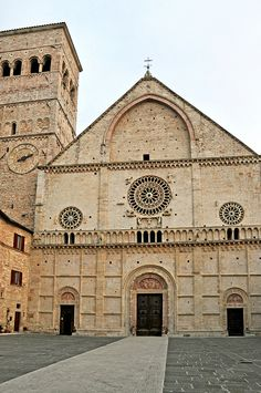 Assisi, Umbria, Italy - Cathedral