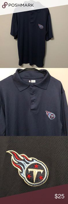 NFL Tennessee Titans Polo Size Medium NFL  Tennessee Titans  Polo Size Medium  Used, Great Condition  Runs Big ⚡️WILL SHIP IN ONE DAY⚡️All bundles of 2 or more receive 20% off. Closet full of new, used and vintage Vans, Skate and surf companies, jewelry, phone cases, shoes and more. NFL Shirts Polos