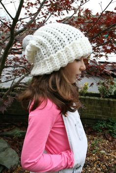 DIY Christmas crochet hat Diy Christmas Hats 4f2d76b883