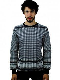 palestina keffiyeh fullprint sweater