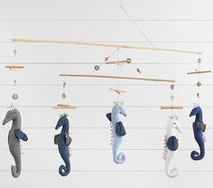 Seahorse Driftwood Mobile #pbkids