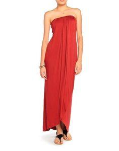 Beach Jersey Maxi Dress