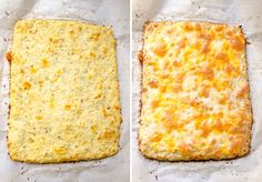 Cauliflower Breadsticks Recipe made with homemade or store bought riced cauliflower, egg whites or eggs, and cheese for a low carb cauliflower bread recipe that is foolproof with step by step instructions. | ifoodreal.com