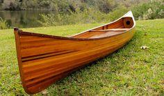 CaptJimsCargo - Cedar Wood Strip Built Canoe 18' Feet Wooden Boat Without Ribs Woodenboat USA, (http://www.captjimscargo.com/full-size-real-canoes-kayaks/cedar-wood-strip-built-canoe-18-feet-wooden-boat-without-ribs-woodenboat-usa/)