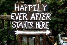 Wedding sign @leeann b b Whitney