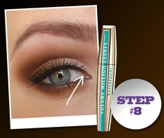 How to do a Sultry smokey eye - for blue eyed girls - step by step photos Naked palette