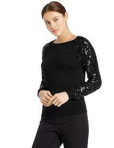 M&S Per Una Long Sleeve Round Neck Jumper T38/6683.  UK22 EUR50  MRRP: £39.50GBP - AVI Price: £30.00GBP
