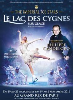 Le Lac des Cygnes sur glace au Grand Rex de Paris 2016 : Gagnez vos places !