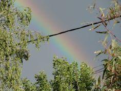 arc en ciel rencontré au cours de nos promenades