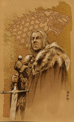 WINTER IS COMING... by Katase6626.deviantart.com on @deviantART Game Of Thrones Images, Game Of Thrones Art, Winter Is Here, Winter Is Coming, Fire And Ice, Enfp, Game Art, Songs, Ned Stark