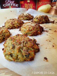 TORTINI DI PATATE GRATTUGIATE Tasty Vegetarian Recipes, Tandoori Chicken, Ricotta, Potatoes, Cooking, Ethnic Recipes, Italian Recipes, Food, Contouring