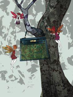 przemek sobocki The Secret Life of Elves, Harper`s Bazaar Korea on Behance
