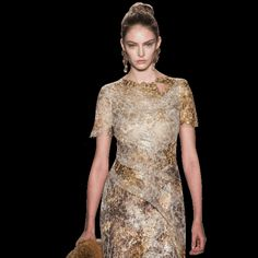 "Marchesa·-- Most of the high fashions are so ""over done"". I sort of like this style (2014)"