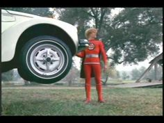 The Greatest American Hero 1981! I loved this show!! Loved the fact that he lost the suit's handbook!