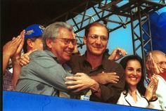 Mário Covas na convenção de 1998