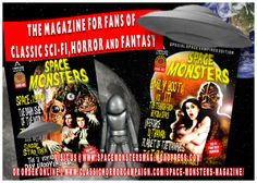Popular actress and Horror Channel presenter Emily Booth has joined new genre magazine Space Monsters as a regular columnist and reviewer.